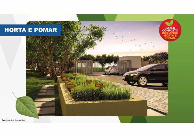 Horta e Pomar - Excelente apartamento em Belford Roxo - Viva Vida Naturale!! - SIAP20034 - 6