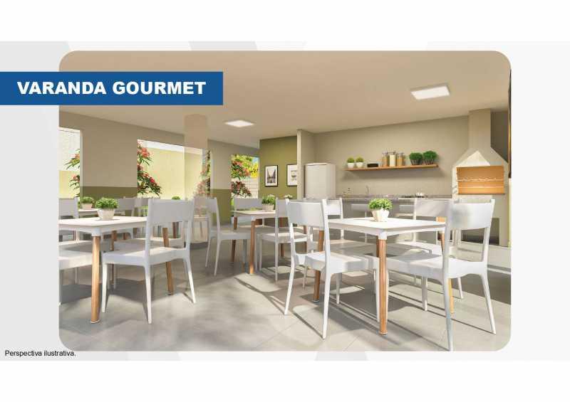 Varanda gourmet - Excelente apartamento em Belford Roxo - Viva Vida Naturale!! - SIAP20034 - 8