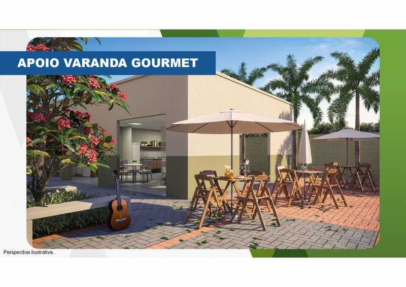 Varanda Gourmet 2 - Excelente apartamento em Belford Roxo - Viva Vida Naturale!! - SIAP20034 - 9