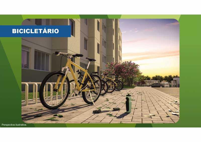 Bicicletário - Excelente apartamento em Belford Roxo - Viva Vida Naturale!! - SIAP20034 - 11