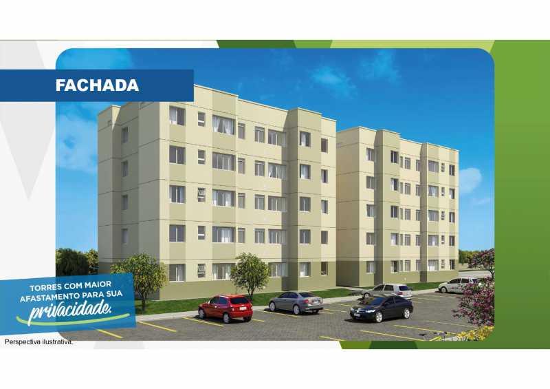 Fachada - Excelente apartamento em Belford Roxo - Viva Vida Naturale!! - SIAP20034 - 1