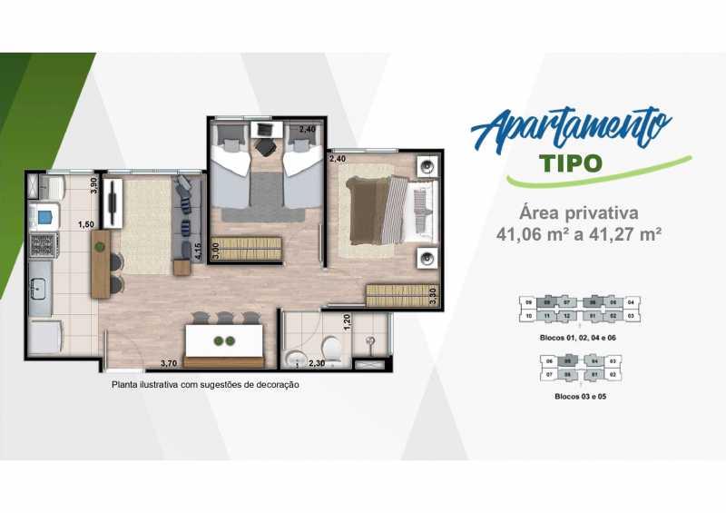 Apartamento 2 - Excelente apartamento em Belford Roxo - Viva Vida Naturale!! - SIAP20034 - 18