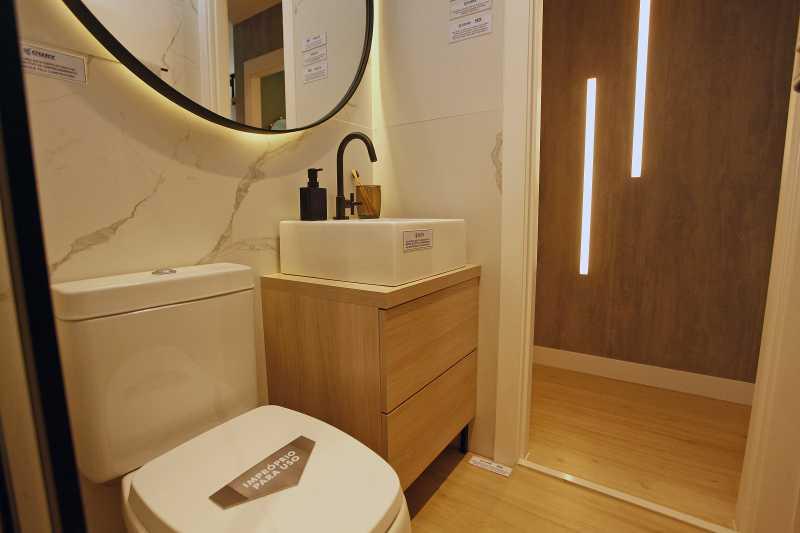 Banheiro 3 - Excelente apartamento para venda - Mérito Jacarepaguá!! - SIAP20036 - 4