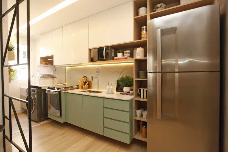 Cozinha 2 - Excelente apartamento para venda - Mérito Jacarepaguá!! - SIAP20036 - 5