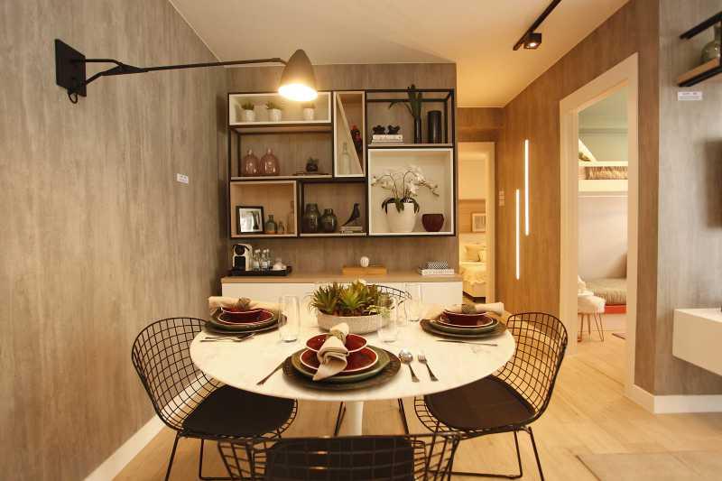 Sala de Jantar - Excelente apartamento para venda - Mérito Jacarepaguá!! - SIAP20036 - 20