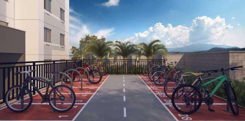 Bicicletário - Excelente Apartamento para Venda - Completo Piedade! - SIAP20038 - 5