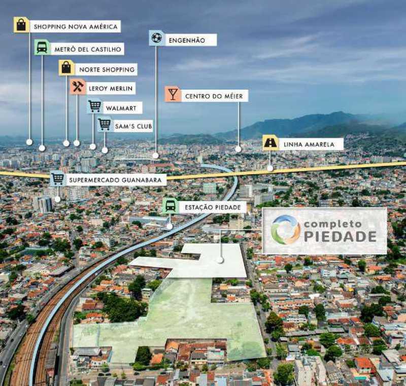 Localização - Excelente Apartamento para Venda - Completo Piedade! - SIAP20038 - 10