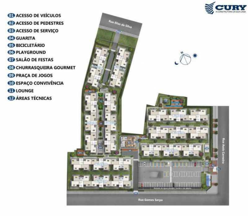 Planta - Excelente Apartamento para Venda - Completo Piedade! - SIAP20038 - 11