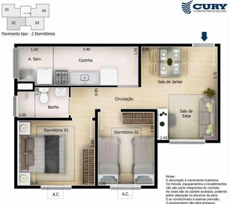 Plantas - Excelente Apartamento para Venda - Completo Piedade! - SIAP20038 - 13