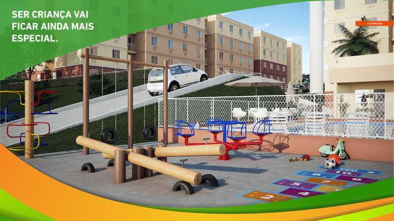 Apresentação Vista Park - CA - Vista Park - Lançamento, Apartamentos de 2 quartos em Belford Roxo - SIAP20041 - 14