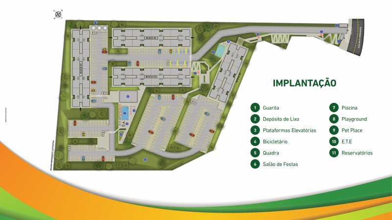 Apresentação Vista Park - CA - Vista Park - Lançamento, Apartamentos de 2 quartos em Belford Roxo - SIAP20041 - 17