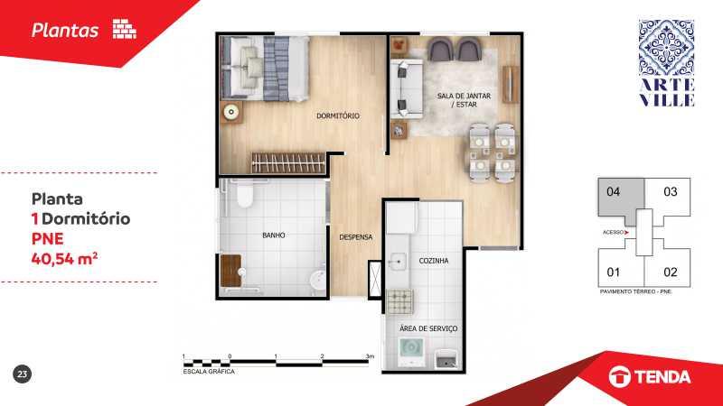 Arte_Ville_page-0023 - Apartamento de 2 quartos em Cascadura para venda. - SIAP20043 - 5