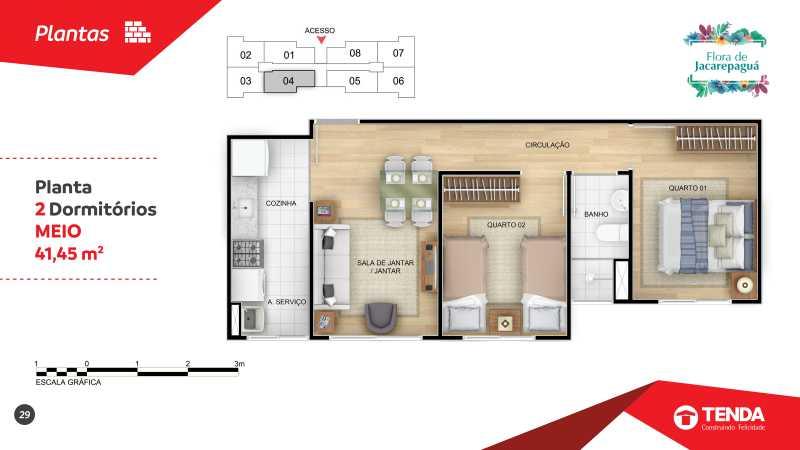 Flora Jacarepagua_page-0029 - Apartamento 2 quartos em Jacarepaguá para Venda - SIAP20047 - 15