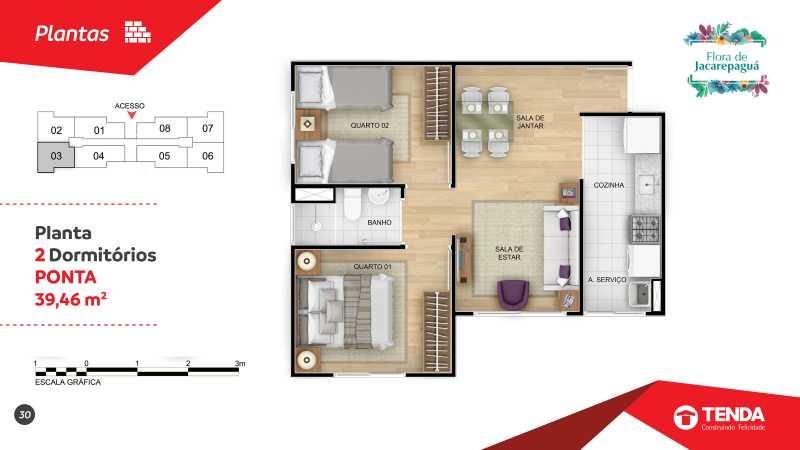 Flora Jacarepagua_page-0030 - Apartamento 2 quartos em Jacarepaguá para Venda - SIAP20047 - 16