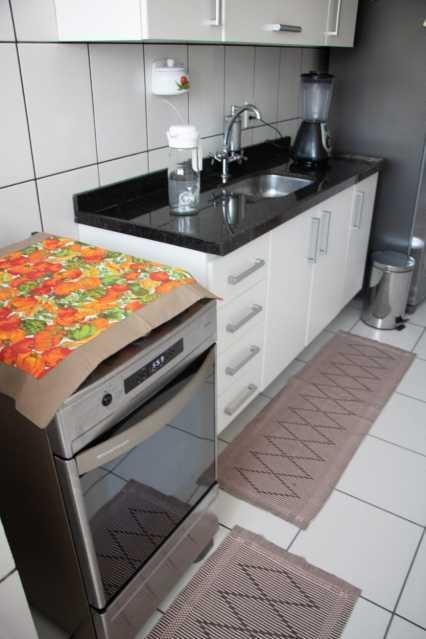 Cozinha1. - Apartamento 2 quartos à venda Banco de Areia, Mesquita - R$ 123.000 - PMAP20180 - 8