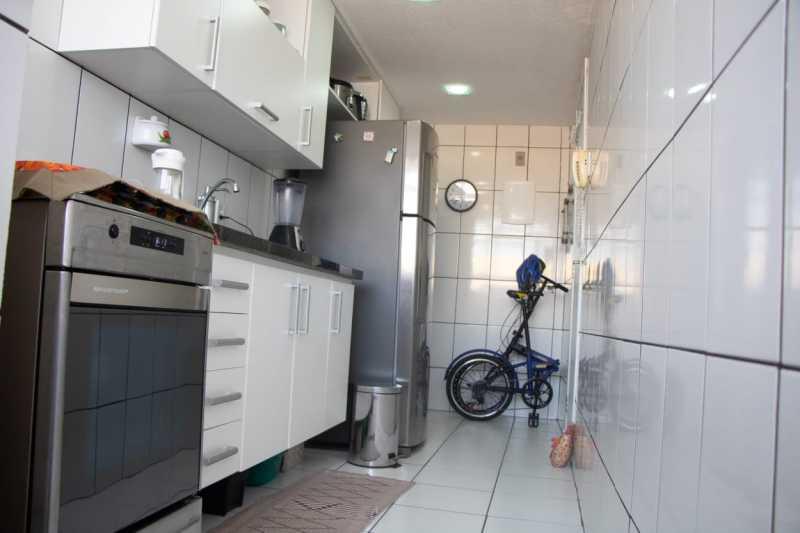 Cozinha3. - Apartamento 2 quartos à venda Banco de Areia, Mesquita - R$ 123.000 - PMAP20180 - 10