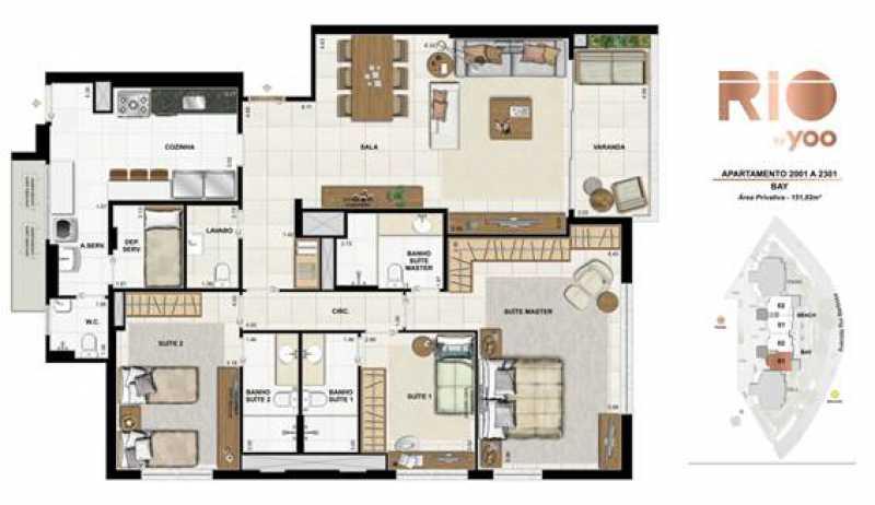 image005 - Apartamento 3 quartos à venda Flamengo, Rio de Janeiro - R$ 4.680.000 - SVAP30179 - 1