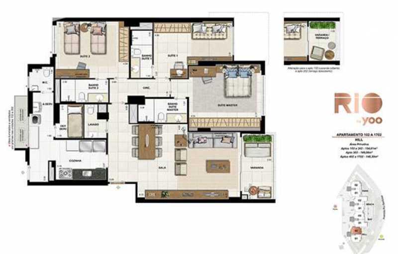 image005 - Apartamento 3 quartos à venda Flamengo, Rio de Janeiro - R$ 3.290.000 - SVAP30181 - 1