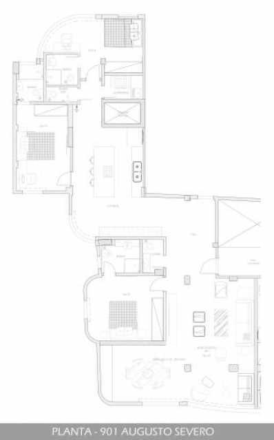 fotos-1 - Apartamento 3 quartos à venda Glória, Rio de Janeiro - R$ 899.000 - SVAP30191 - 13