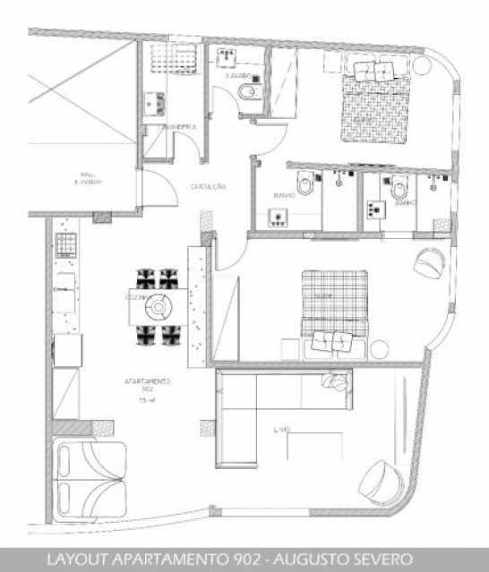 fotos-1. - Apartamento 2 quartos à venda Glória, Rio de Janeiro - R$ 719.000 - SVAP20360 - 14