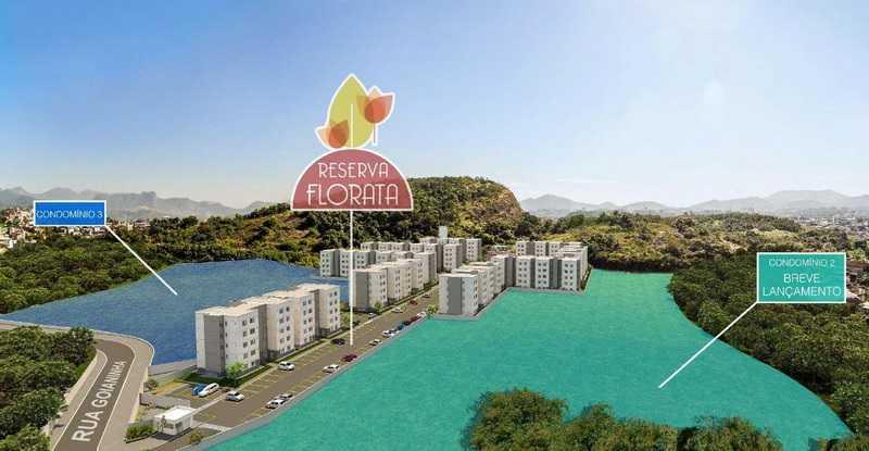 2 - Apartamento 2 quartos à venda Curicica, Rio de Janeiro - R$ 240.000 - SVAP20361 - 3