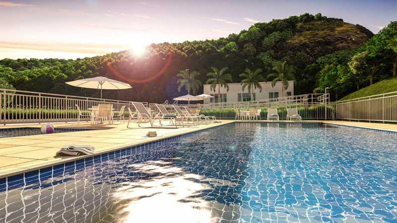 1 - Apartamento 2 quartos à venda Curicica, Rio de Janeiro - R$ 240.000 - SVAP20361 - 1