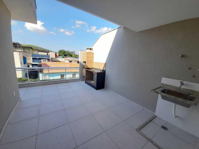 26 - Casa em Condomínio Taquara, Rio de Janeiro, RJ À Venda, 3 Quartos, 90m² - SVCN30108 - 27