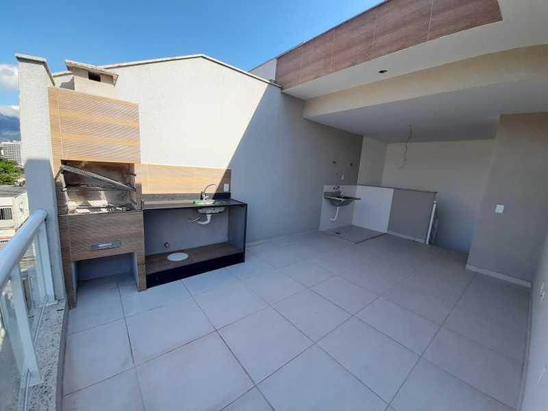 27 - Casa em Condomínio Taquara, Rio de Janeiro, RJ À Venda, 3 Quartos, 90m² - SVCN30108 - 28