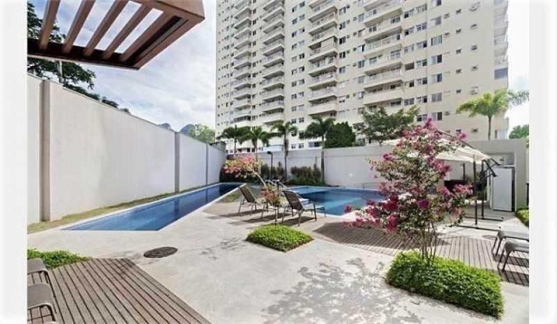 1 - Flat 1 quarto à venda Jacarepaguá, Rio de Janeiro - R$ 245.000 - SVFL10005 - 1