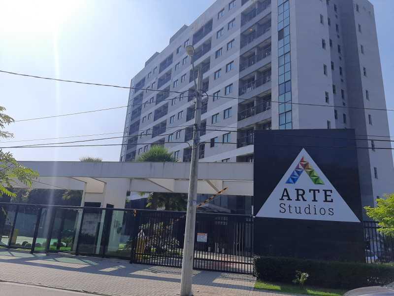 1 - Apartamento 1 quarto à venda Curicica, Rio de Janeiro - R$ 238.000 - SVAP10042 - 1