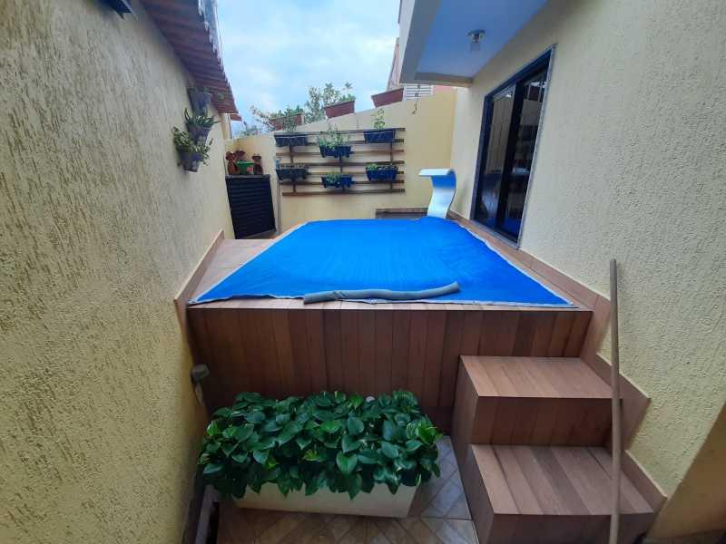 2 - Casa 3 quartos à venda Taquara, Rio de Janeiro - R$ 629.900 - SVCA30034 - 3
