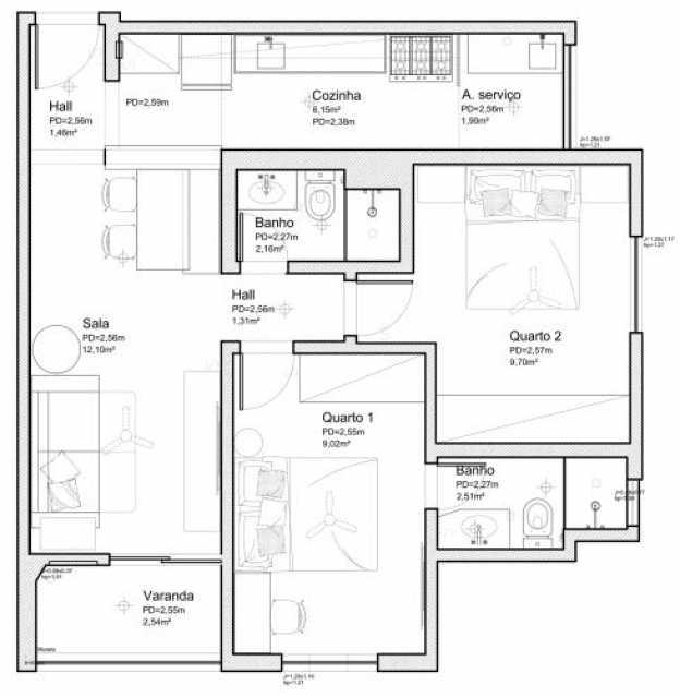 fotos-46 - Apartamento 2 quartos à venda Praça Seca, Rio de Janeiro - R$ 248.900 - SVAP20456 - 31