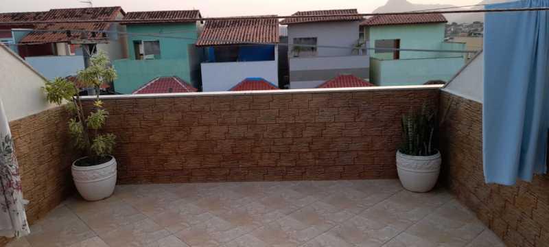 1 - Casa 3 quartos à venda Curicica, Rio de Janeiro - R$ 395.000 - SVCA30037 - 3