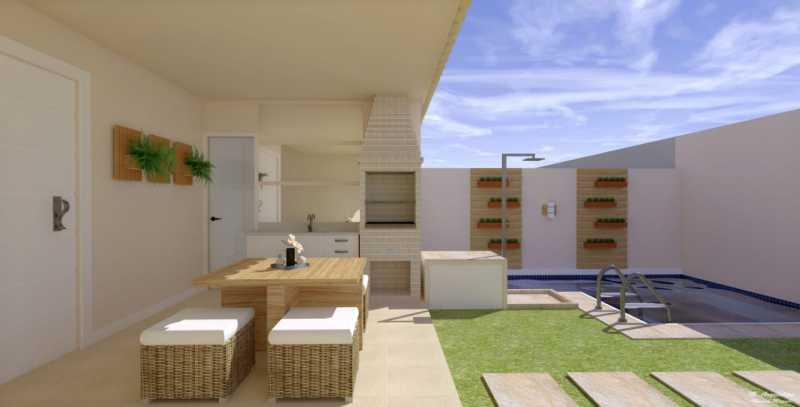 1 - Casa em Condomínio 3 quartos à venda Vargem Pequena, Rio de Janeiro - R$ 820.000 - SVCN30144 - 1