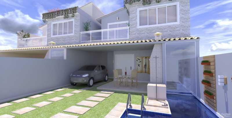 2 - Casa em Condomínio 3 quartos à venda Vargem Pequena, Rio de Janeiro - R$ 820.000 - SVCN30144 - 3