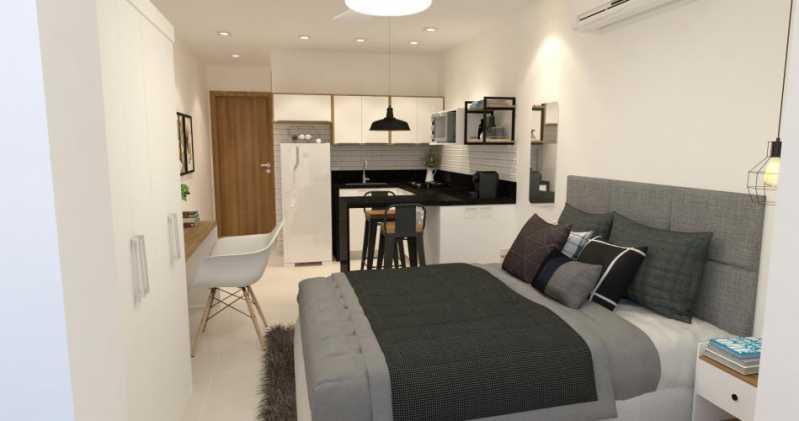 fotos-3 - Apartamento 1 quarto à venda Centro, Rio de Janeiro - R$ 269.000 - SVAP10045 - 5