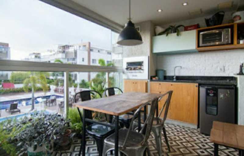 1 - Apartamento 2 quartos à venda Recreio dos Bandeirantes, Rio de Janeiro - R$ 630.000 - SVAP20500 - 1