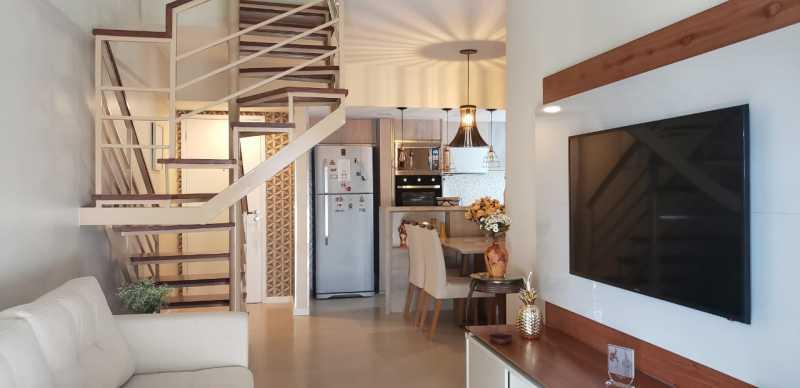 1 - Cobertura 2 quartos à venda Taquara, Rio de Janeiro - R$ 555.000 - SVCO20017 - 1