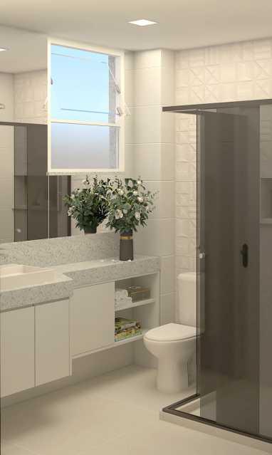 be1cedfea52aa486-BANHEIRO SOCI - Apartamento 2 quartos à venda Copacabana, Rio de Janeiro - R$ 848.900 - SVAP20508 - 20