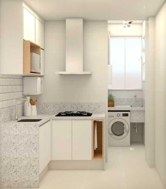 d6ee920f84bc09a4-COZINHA 02 - Apartamento 2 quartos à venda Copacabana, Rio de Janeiro - R$ 848.900 - SVAP20508 - 13
