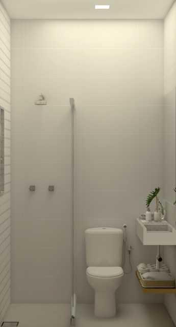 d4364ed096bac754-BANHEIRO SERV - Apartamento 2 quartos à venda Copacabana, Rio de Janeiro - R$ 848.900 - SVAP20508 - 22