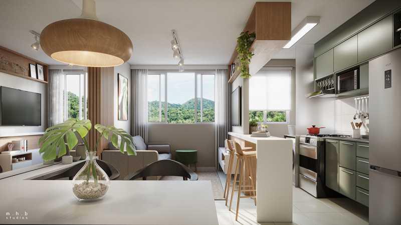rj-reserva-atlantica-decorado - Apartamento 1 quarto à venda Vargem Grande, Rio de Janeiro - R$ 175.000 - SVAP10048 - 6