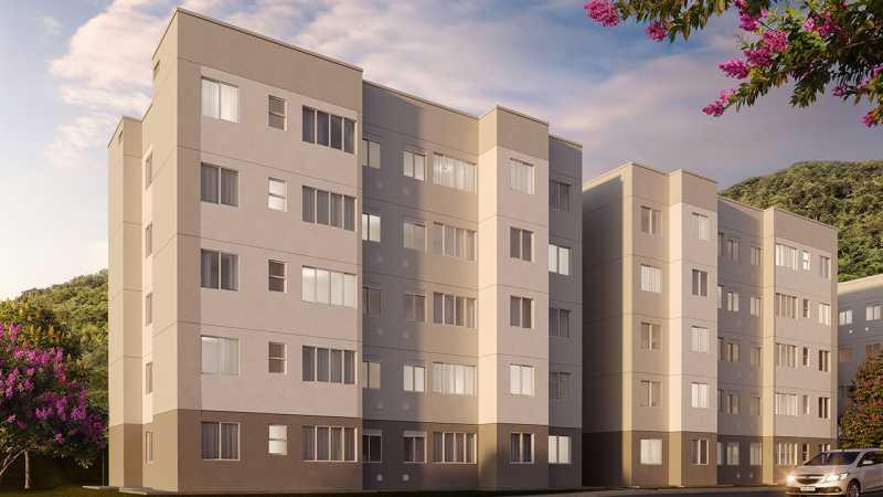 rj-reserva-atlantica-fachada - Apartamento 1 quarto à venda Vargem Grande, Rio de Janeiro - R$ 175.000 - SVAP10048 - 8