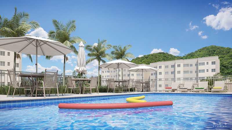 rj-reserva-atlantica-piscina - Apartamento 1 quarto à venda Vargem Grande, Rio de Janeiro - R$ 175.000 - SVAP10048 - 14
