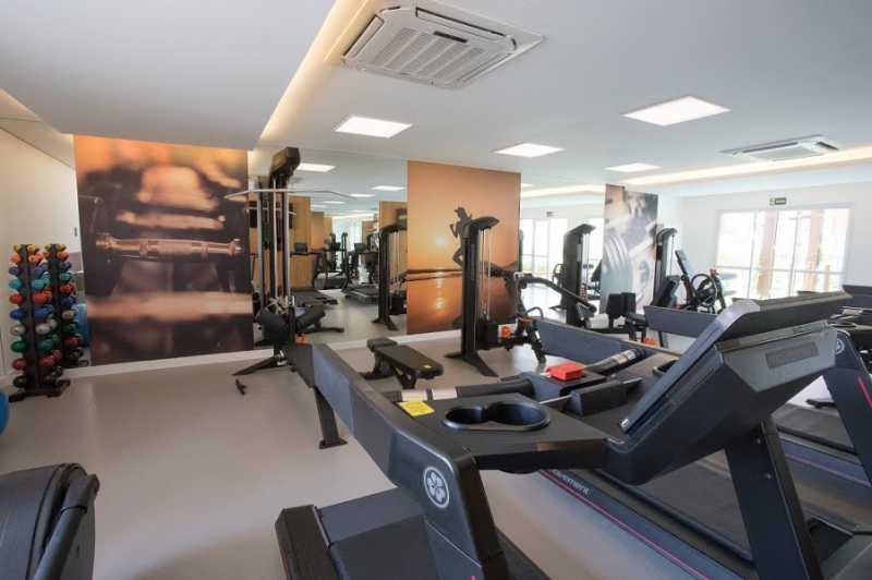 Academia - Apartamento 2 quartos à venda Anil, Rio de Janeiro - R$ 336.800 - SVAP20523 - 3