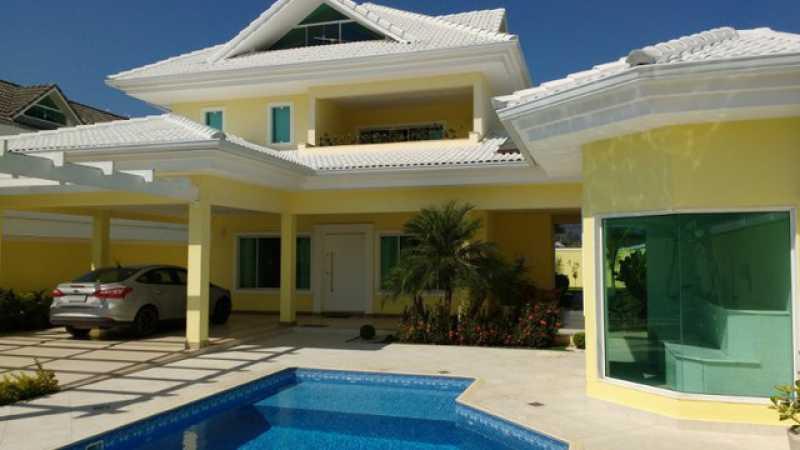 1 - Casa em Condomínio 4 quartos à venda Guaratiba, Rio de Janeiro - R$ 1.540.000 - SVCN40102 - 1