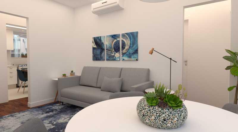 25e5e2fbc7c89676-sala 04 1 - Apartamento 2 quartos à venda Copacabana, Rio de Janeiro - R$ 869.000 - SVAP20562 - 5