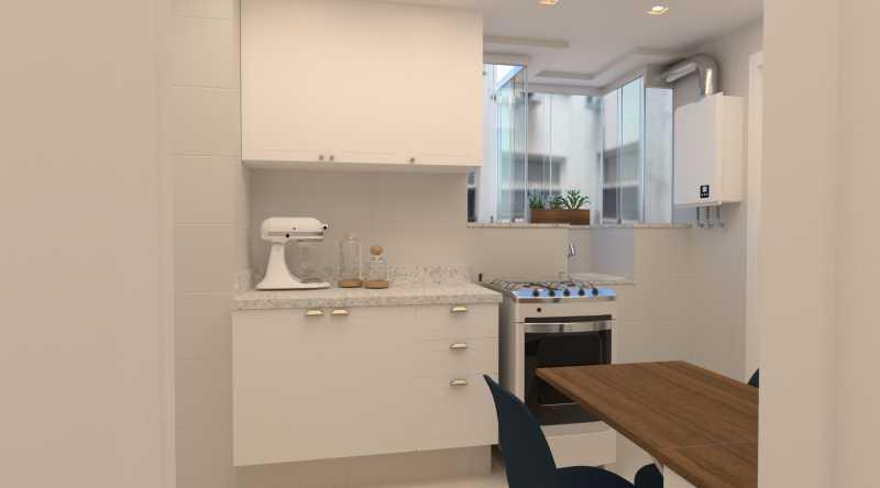384ffe7314f6c17f-cozinha 01 - Apartamento 2 quartos à venda Copacabana, Rio de Janeiro - R$ 869.000 - SVAP20562 - 8