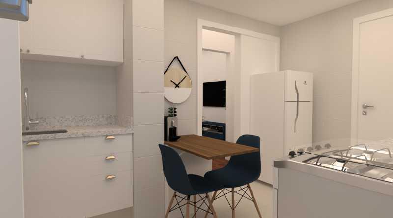 602cc103d9006f66-cozinha 04 - Apartamento 2 quartos à venda Copacabana, Rio de Janeiro - R$ 869.000 - SVAP20562 - 9
