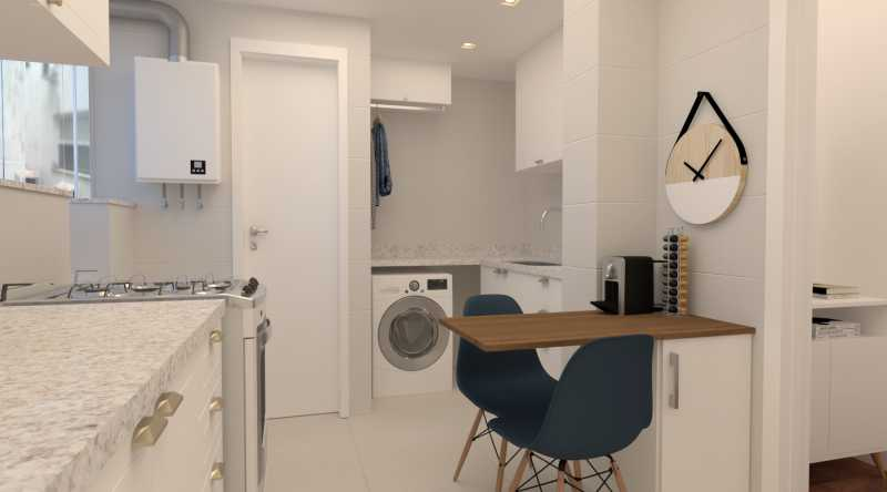 f3c690ae588de442-cozinha 02 - Apartamento 2 quartos à venda Copacabana, Rio de Janeiro - R$ 869.000 - SVAP20562 - 16
